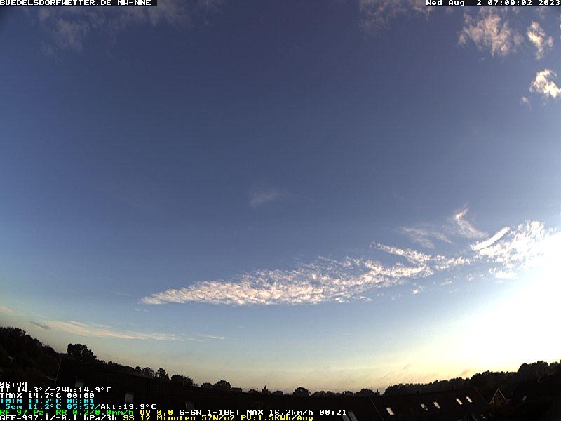 Webcam-Livebild Aktualisierung alle 2 Min, Klick auf das Bild, um die Seite neu zu laden